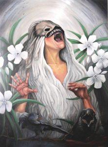 "Dreamscape I: The Message Oil on canvas  30x40"" 2016"
